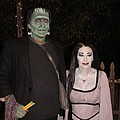 Herman And Lilly Munster by Donna Wilson