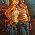 Hermanas by Pat Haley
