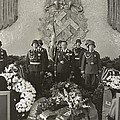 Hermann Goering At The Funeral by Everett