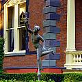 Hermes In The Garden by Rodney Lee Williams