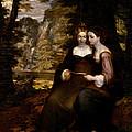Hermia And Helena by Washington Allston