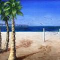 Hermosa Beach Pier by Jamie Frier