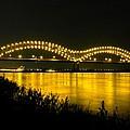 Hernando De Soto Bridge 002 by Lance Vaughn