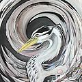 Heron by Charles Creasy Jr