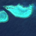 Heron Island by Geoeye/science Photo Library