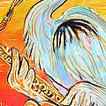 Heron The Blues by Robert Ponzio