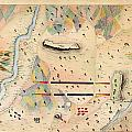 Herreras Map Of A Mexican War Campaign 1848 by MotionAge Designs