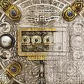Herring Hall Marvin Co. Bank Vault Door Lock by Serge Averbukh