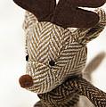 Herringbone Reindeer by Anne Gilbert