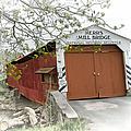 Herr's Mill Historic Bridge by Dyle   Warren