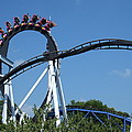 Hershey Park - Great Bear Roller Coaster - 121213 by DC Photographer