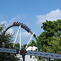 Hershey Park - Great Bear Roller Coaster - 121214 by DC Photographer