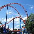 Hershey Park - Storm Runner Roller Coaster - 12125 by DC Photographer