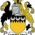 Hervey Coat Of Arms Irish by Heraldry