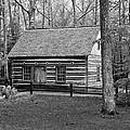 Hesler Log Home 10234b by Guy Whiteley