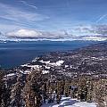 Hevenly Ski Resort In South Lake Tahoe by Carol M Highsmith