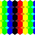 Hexes Fill In Colors by JC Lieber