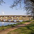 Hexham Bridge And Riverside Path by David Head