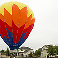 Hey Mom There Is A Big Balloon In Our Driveway by Nick  Boren
