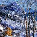 Heystack In The Snow by Sefedin Stafa