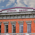 Heywoods Heywood Building In Old Sacramento California by Donna Haggerty