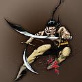 Hhu'manni Warrior by James Kramer