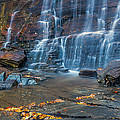 Hickory Nut Falls In Chimney Rock State Park by Pierre Leclerc Photography