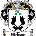 Hickson Coat Of Arms I Kerry Ireland by Heraldry