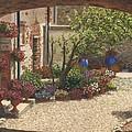 Hidden Garden Villa Di Camigliano Tuscany by Richard Harpum