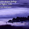 Hidden In Your Deepest Feelings by Mike Flynn