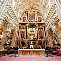High Altar Of Cordoba Cathedral by Artur Bogacki