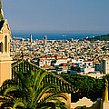 High Angle View Of A City, Barcelona by Panoramic Images
