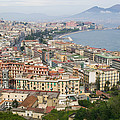 High Angle View Of A City, Naples by Panoramic Images