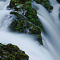 High Angle View Of A Waterfall, Sol Duc by Panoramic Images