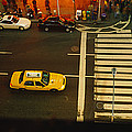 High Angle View Of Cars At A Zebra by Panoramic Images