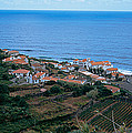 High Angle View Of Houses At A Coast by Panoramic Images