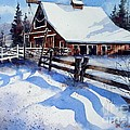 High Country Snow by Tim Oliver