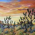 High Desert Joshua Trees by Diane Deam
