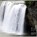 High Falls In Rochester New York by Rose Santuci-Sofranko