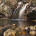 High Falls Talledega National Forest Alabama by Charles Beeler