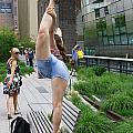 High Line Exhibitionist by Allen Beatty