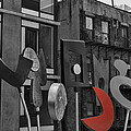High Line Joy Black And White by Evie Carrier
