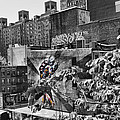 High Line Urban View Black And White by Evie Carrier