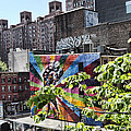 High Line Urban View by Evie Carrier