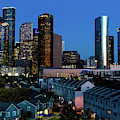 High Rise Buildings In Houston by Panoramic Images