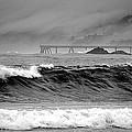 High Seas By The Pier by AJ  Schibig