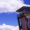 High Section View Of Railroad Tower by Panoramic Images