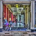 High Street Arcade Cardiff by Steve Purnell
