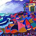 High Tide Boars Head Nh by Debra Bretton Robinson