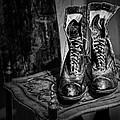 High Top Shoes - Bw by Nikolyn McDonald